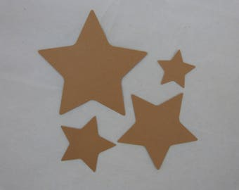 "Cuts ""stars"" for scrapbooking or cardmaking"