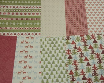 """Assortment of papers Christmas """"Nordic"""""""