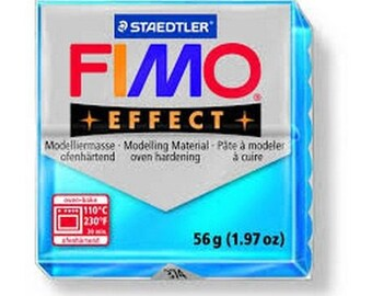 Fimo translucent blue No. 374 56gr