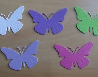 5 cuts butterfly for your scrapbooking creations, set 1.