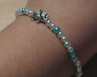 "Bracelet ""Hills like white Elephants"""
