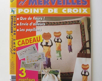 """Embroidery """"Hands and wonders"""" magazine No. 36-2003."""