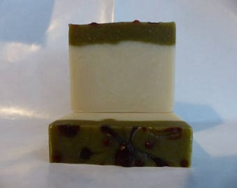 Coconut Lime Verbena - Cold Process All Natural Handmade Soap