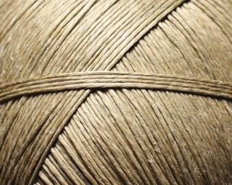 5 Metters - 0.8 - 1 mm Beige Ecru linen Twine cord - 4558550012364