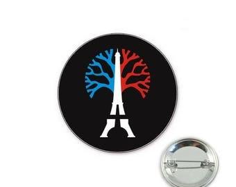 Peace Paris - 32mm Badge button