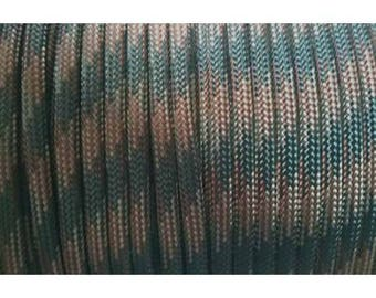 Paracord 550 type III length 1 m camou