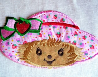 HEAD cap Charlotte Russe recipe * 12 x 21 cm * large patch embroidered patch Thermo - applique iron-on