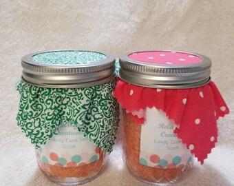 Candy Cane salt scrubs
