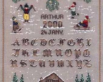Miniature blessed ladies ABC January Kit