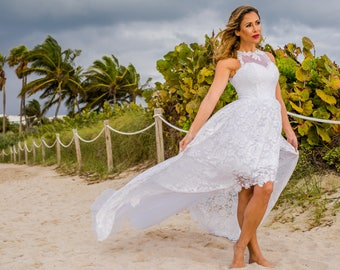 Beach Wedding Dress - Ephyrah