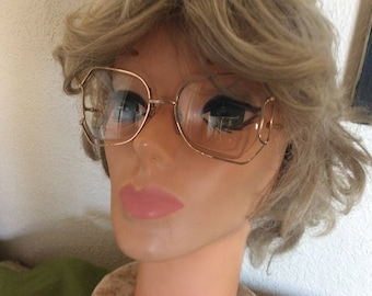 Vintage 70's Gold Wire Rim Eye Glasses
