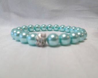 Baby Blue Pearl Bracelet ... Classic Collection