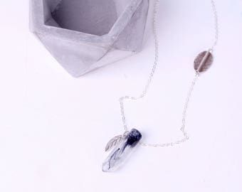 Paradise Eco Resin crystal necklace