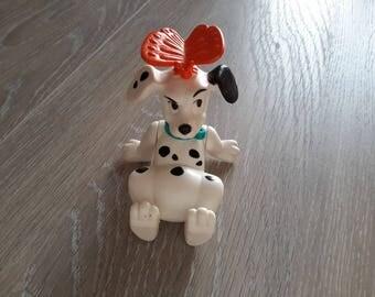 101 Dalmatians cartoon dog figurine