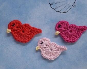 crochet 3 ducks