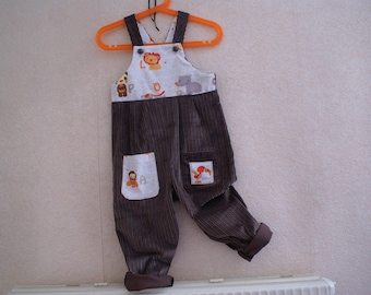 Pet high Savannah corduroy overalls