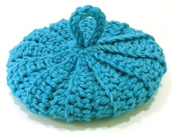 Cotton Tawashi 10.5 cm Pacific Blue
