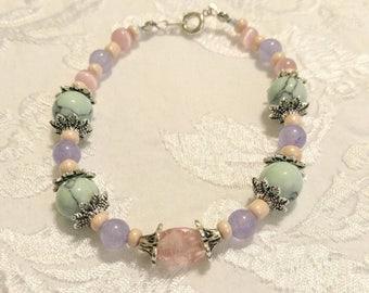 Spring Beaded Bracelet