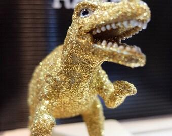 Glitter dinosaur