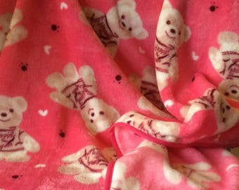 Plush fleece blanket