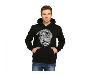 TuPac Design Unisex Adult Sweatshirt Pullover Hoodie