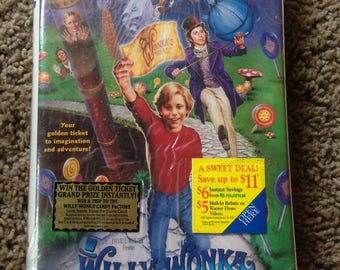 Vintage 1996 Original Willy Wonka and The Chocolate Factory