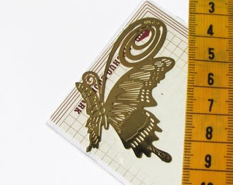 Bookmark gold leaf to embellish, lead and nickel free metal
