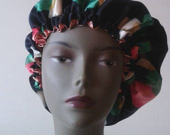 Multicolor satin Hat