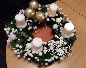 Customize advent wreath