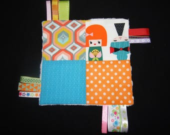 Taggy kokeshi / Japanese soft dolls!