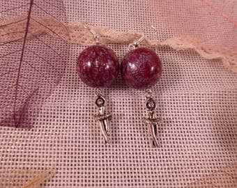 "Earrings ""Dancer"" Creat'Yon - simple and beautiful."