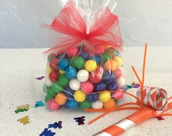 Party Favor Treat Bags with Bows