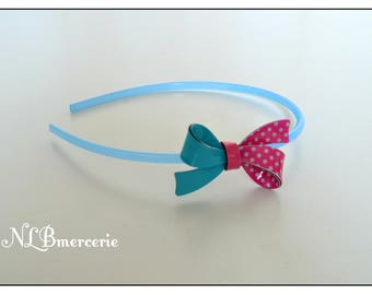 Blue headband one size fits for child