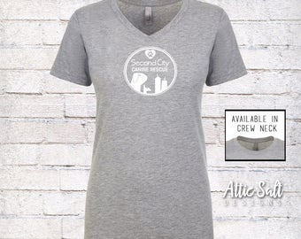 Women's Fitted T-Shirt - Circle Logo