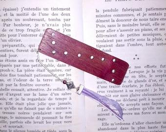 Wood Amarante bookmarks
