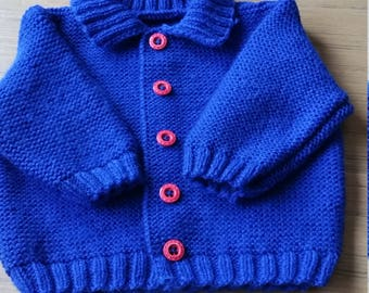 Vest boy 1 Royal Blue