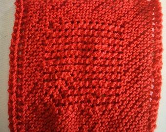 Knit Dish Cloths - Cotton Dish Rag