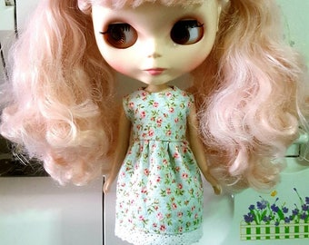 Blythe, Blythe cotton dress, Blythe outfit, Blythe Clothing