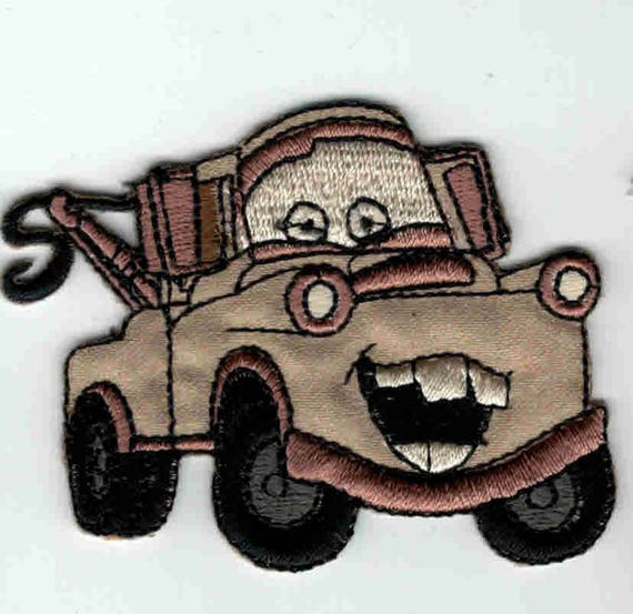 """Patch fusible trend pattern """"cars"""""""
