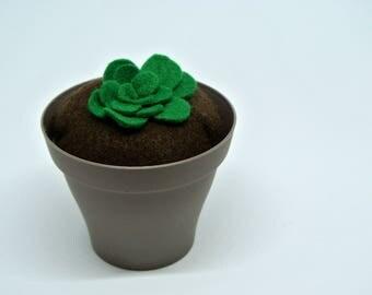 Felt potted Cactus