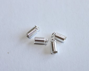 Glue ends, cord 2.5 mm set of 10