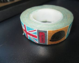 masking tape roll English London