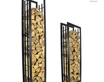 The Gloucestershire Log Holder Firewood Rack Log Basket Firewood Holder Storage