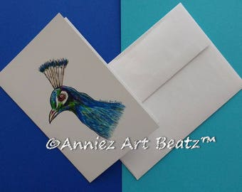 Hand drawn cards/art/drawing/Thank You cards/Everyday Occasion cards