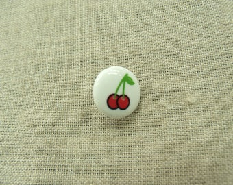 Buttons decorative child - cherry