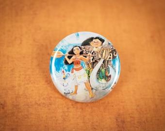 Moana Crew Button
