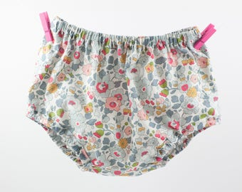Bloomers in soft Liberty fabrics for 2yo little girls
