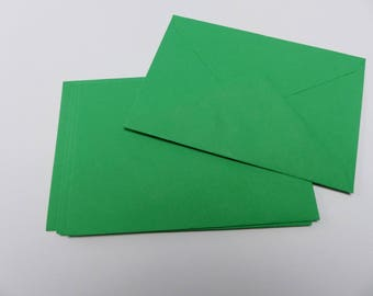 5 colorful green 16 X 11.5 cm green envelope C6 envelopes