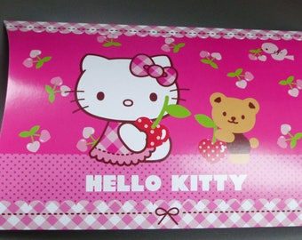large 25 cm Hello Kitty cherry pink gift box