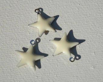 set of enamel star
